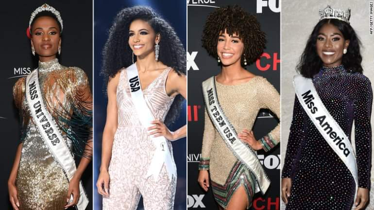 Sat 8 Pm Black Is Beautiful Miss Universe Miss America Miss